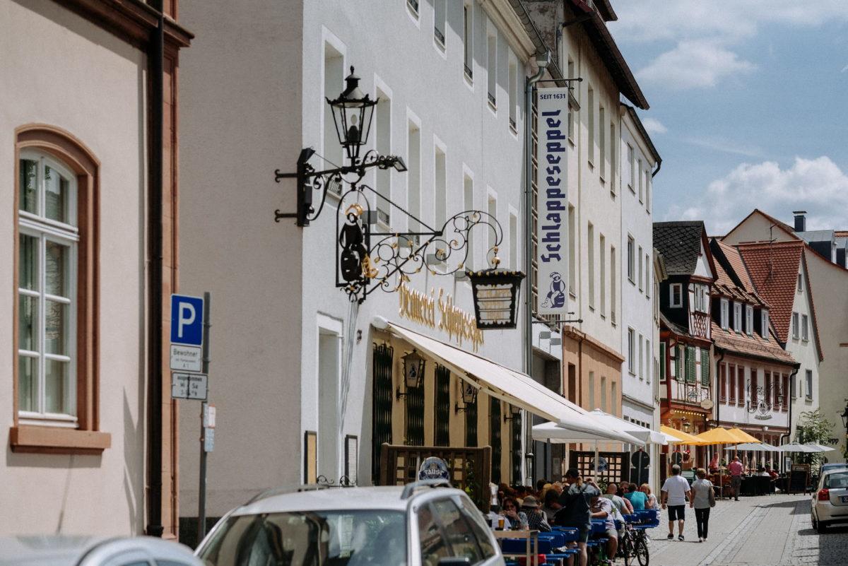 Schlappeseppel Aschaffenburg,Biergarten,