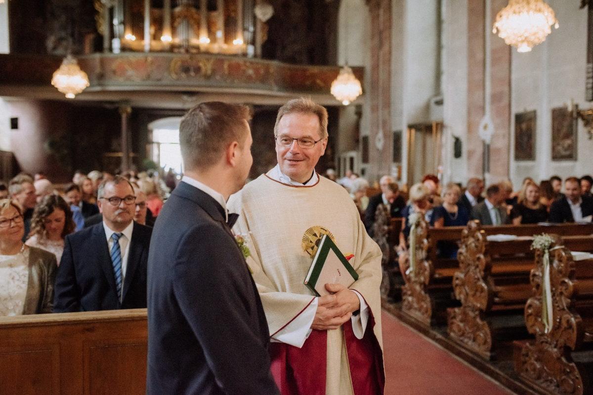 Muttergottespfarrkirche Aschaffenburg,Pfarrer,Bräutigam