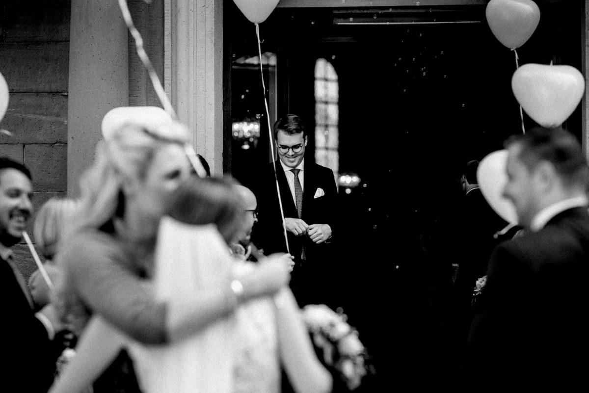 Herzluftballons,Umarmung,gratulation,Hochzeit