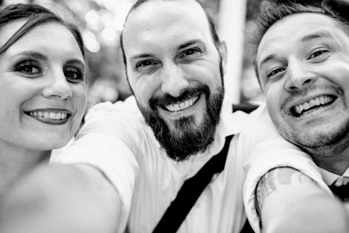 Timo Raab,Hochzeitspaar,Selfie,Brautpaar