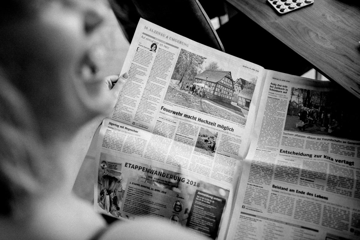 Zeitung Alzenau&Umgebung,lachen,lesen
