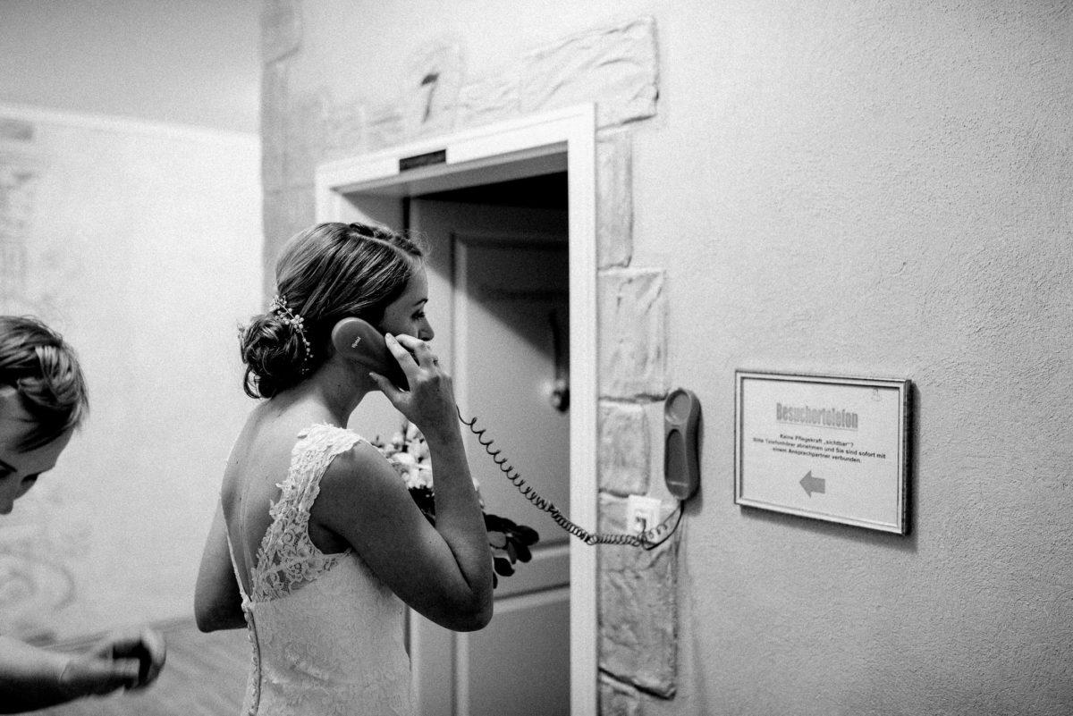 Besuchertelefon,Braut,telefonieren,7,