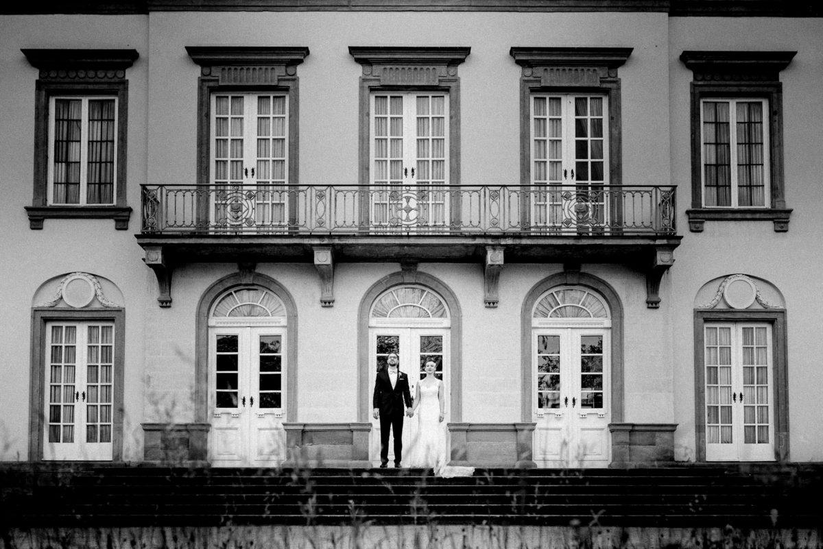 Schönbusch Aschaffenburg,Hochzeitsbilder,Balkon,hohe Türen,