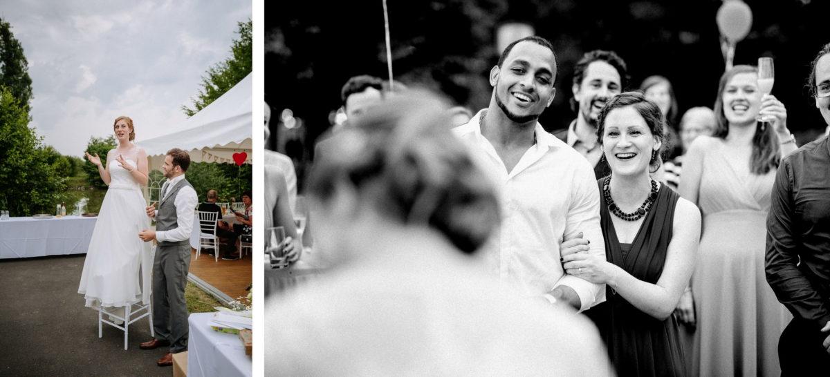 Ansprache,Stuhl,Hochzeitsgäste,Luftballons,