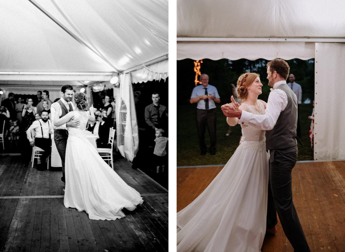 Eröffnungstanz,Couple,Pavillion,Brautkleid,Tanzfläche