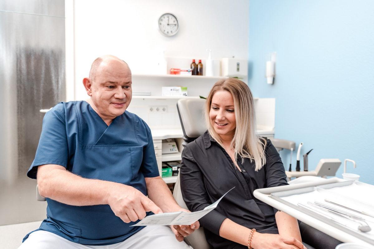 Behandlungsraum,Zahnarzt Dr. med. dent. Bernhard Fuchs
