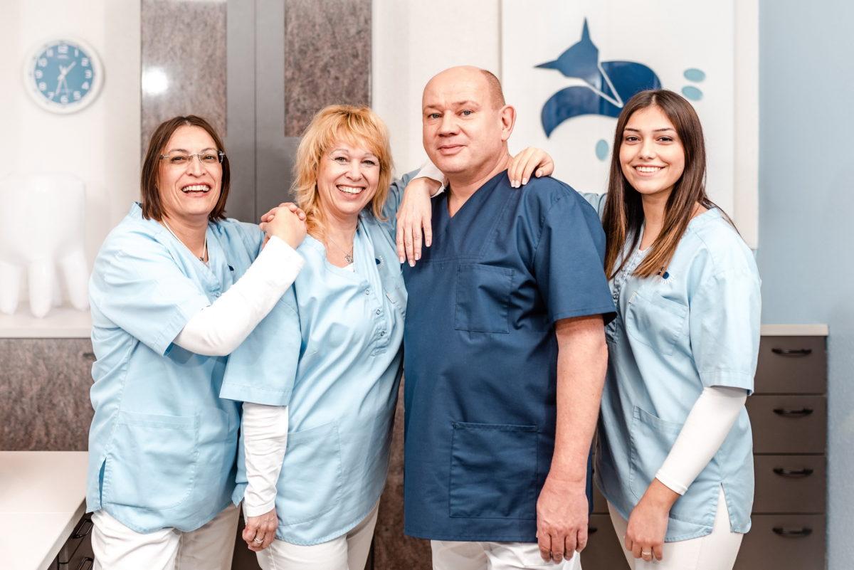 Zahnarztpraxis Fuchs Alzenau,Praxisteam,Fuchs Logo