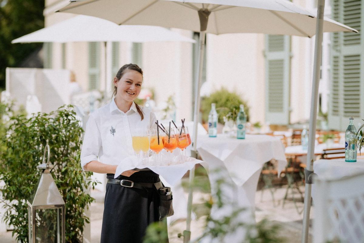 Sektempfang,Hochzeit,Restaurant&Bistro Schönbusch