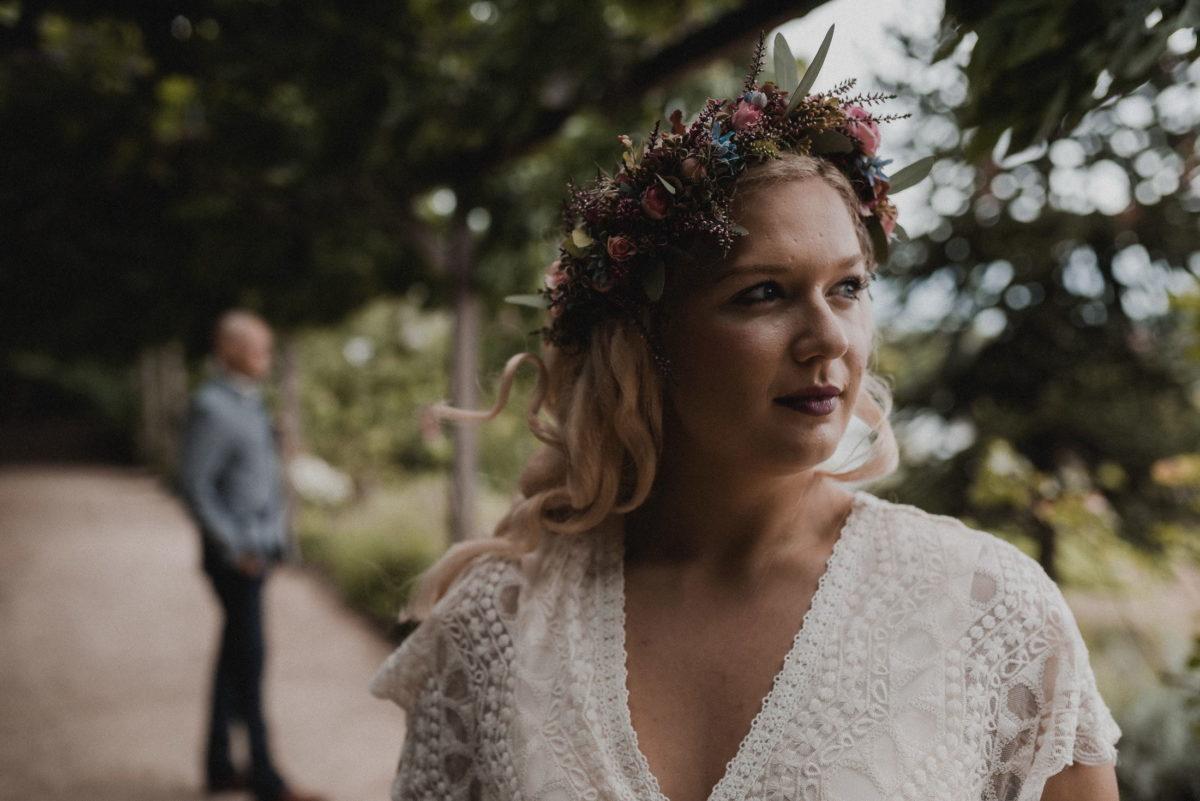 unscharf,Hintergrund,Bräutigam,Braut,V-Ausschnitt