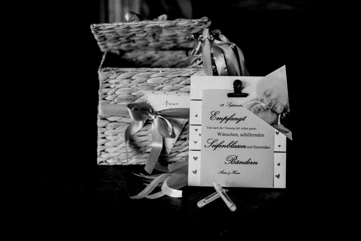 geflochtener Kasten,Hochzeitsempfang,Seifenblasen
