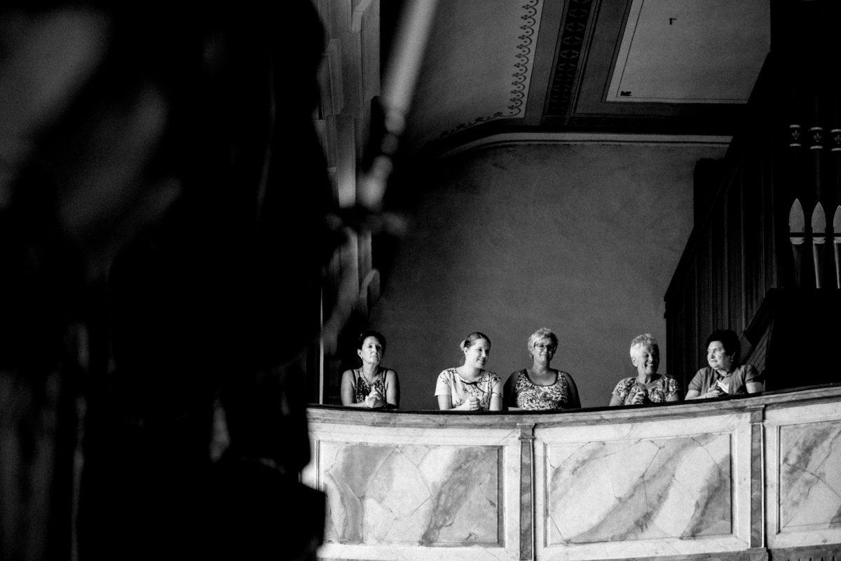 Kirche,Empore,Orgel,Frauen,