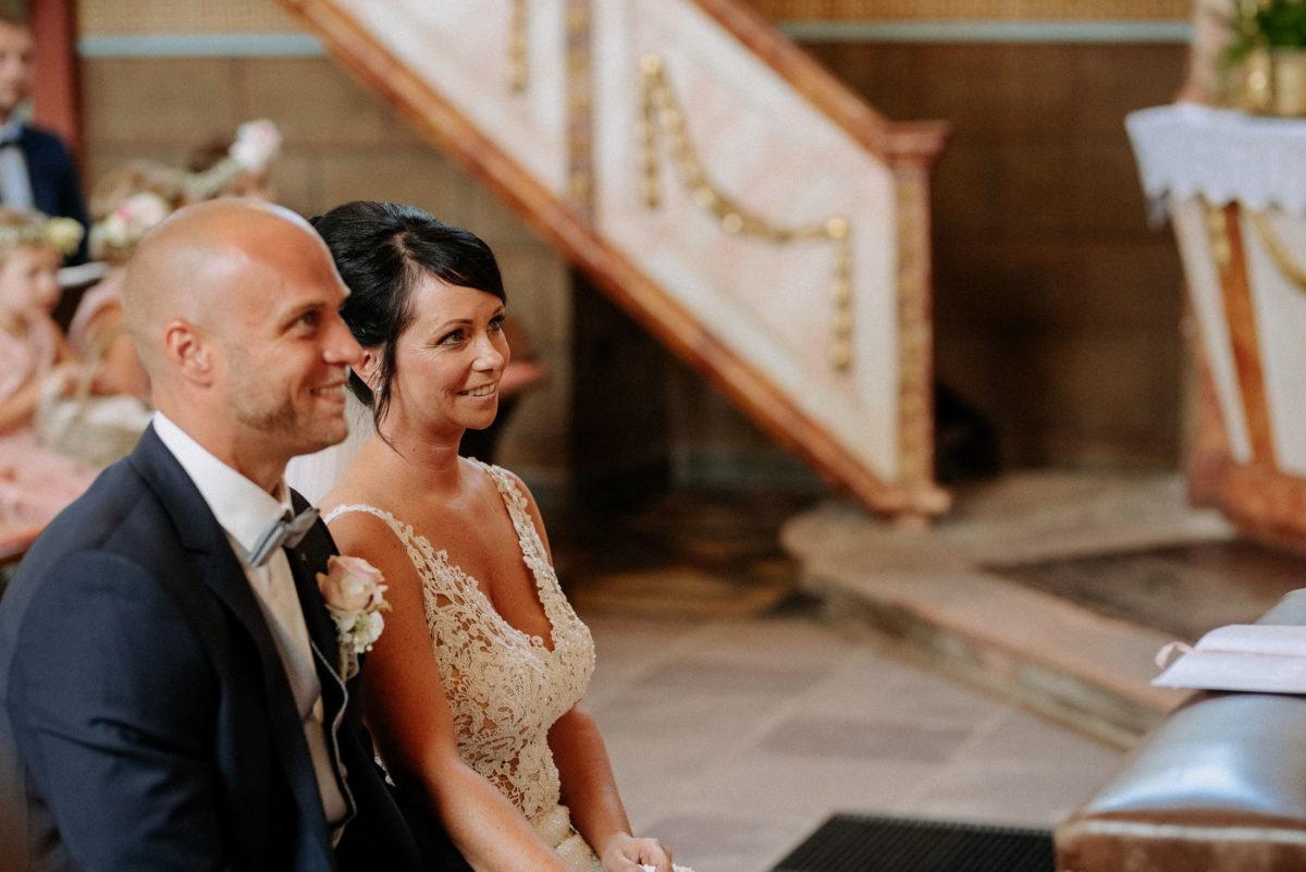 kirchliche Trauung,Brautpaar,