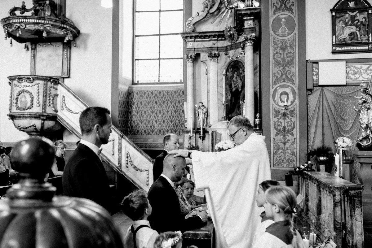 Segnung,kirchliche Trauung,alzenau,Ehepaar,