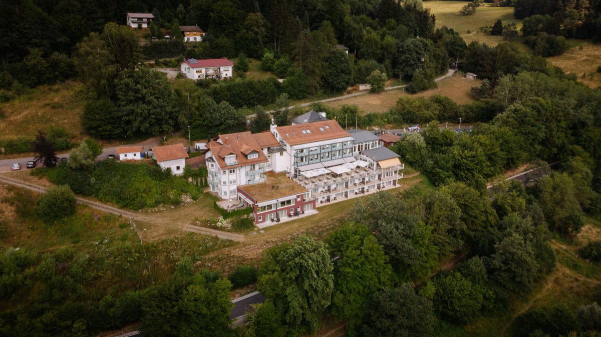 Luftaufnahme,Hotel Spechtshaardt Rothenbuch