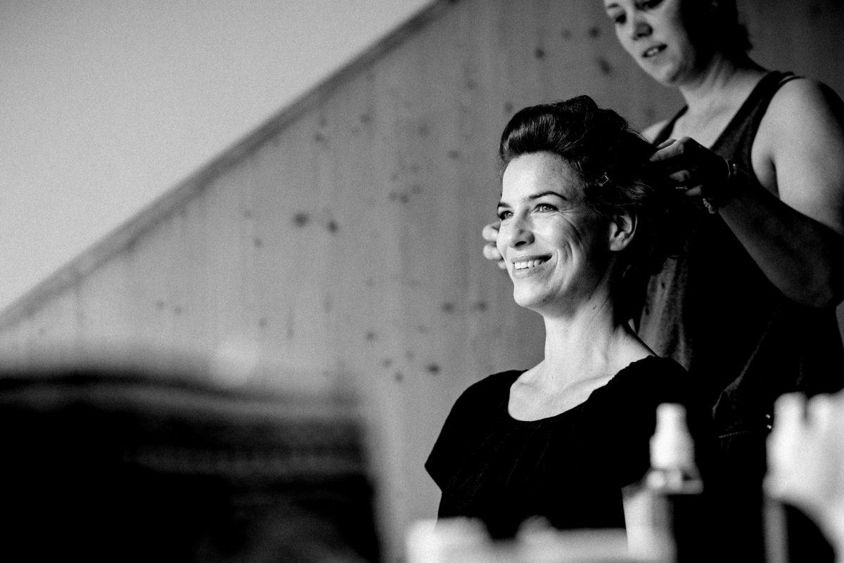 Christine Raab,Haarstyling,Hochzeitsfrisur,kurze Haare