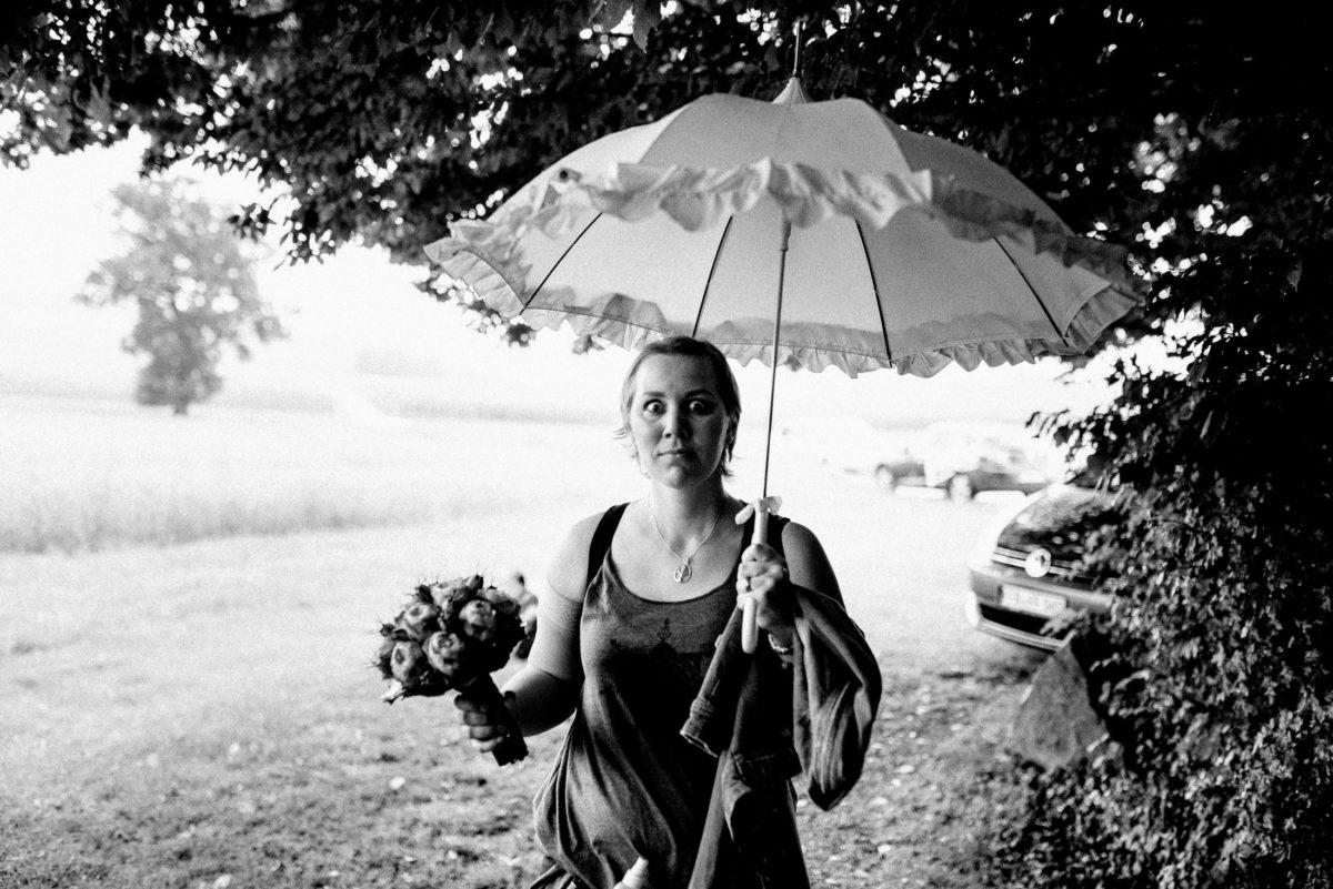 Christine Raab,Brautstrauß,vintage Regenschirm