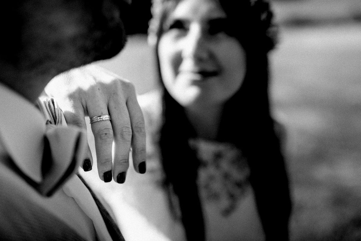 Ring, Ehefrau, Nagellack, Hand