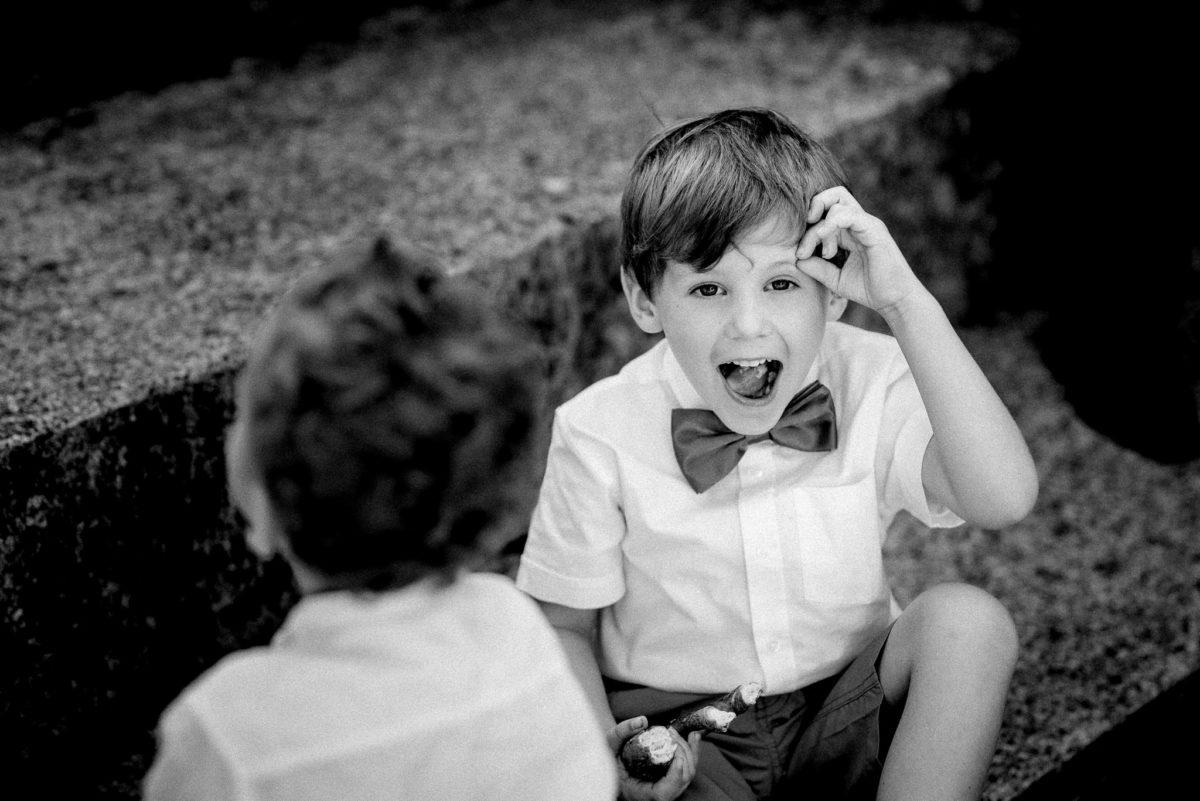 Hochzeit, Fotografie, schwarzweiß, Junge