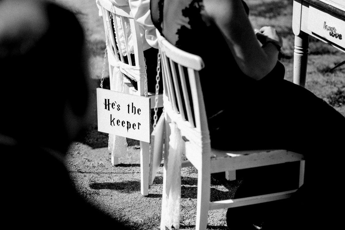 Harry Potter, Hochzeit, Stühle, Holzstuhl