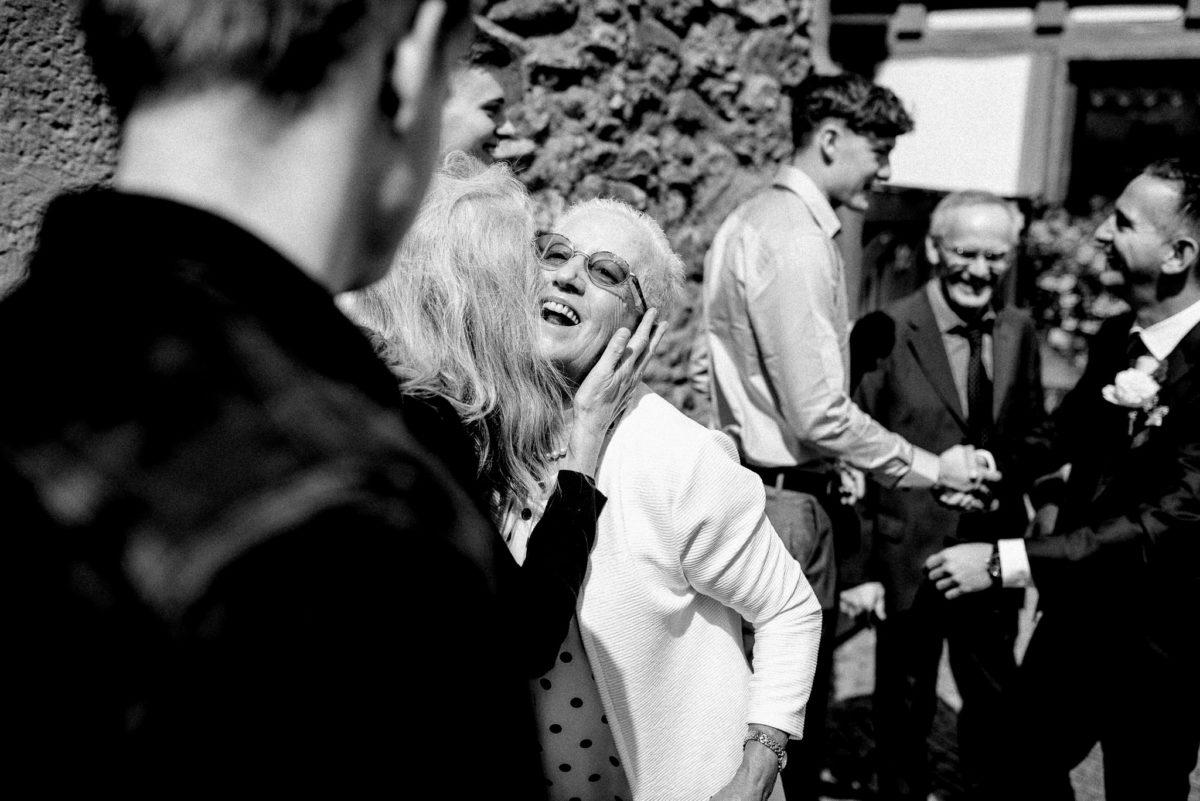 Lachen, herzlich, Freude, Hochzeit, Hochzeitsfotografie