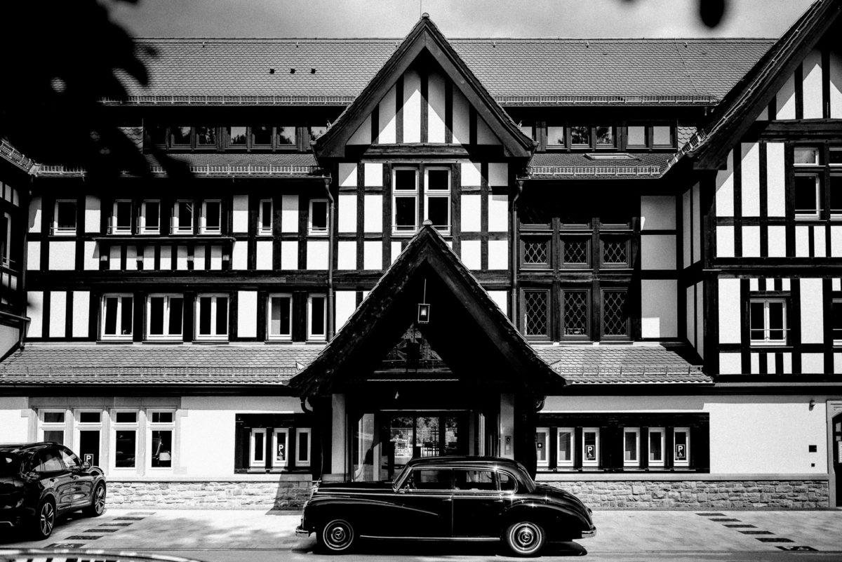 Mercedes Benz, Oldtimer, Fachwerk, Hochzeitslocation, Feierlocation, Dorint Hotel Oberursel