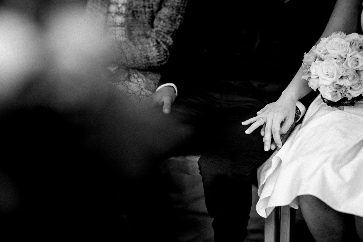Hochzeitsfotografie, heiraten, Eheringe, Brautpaar