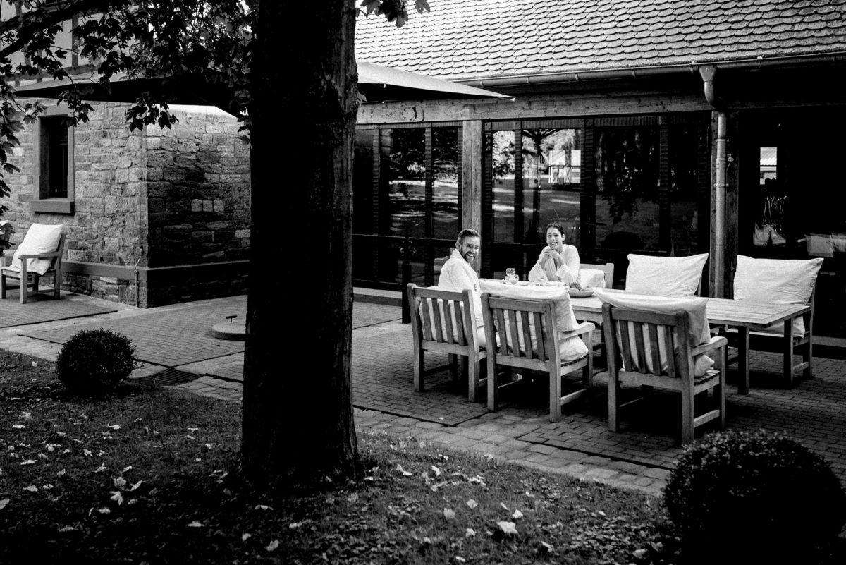 Frühstück, Brautpaar, Getting Ready, Hofgut von Hünersdorff, Hochzeitslocation, Feierlocation
