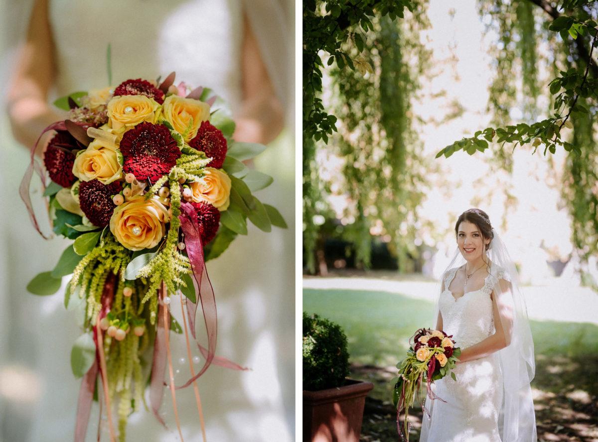 Brautstrauß, Brautstraussliebe, Blumenstrauß, Rosen, Hochzeitsfotos