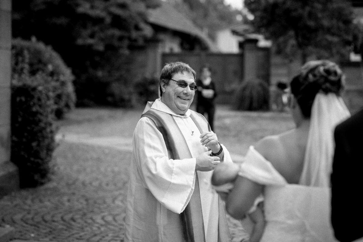 Hochzeitsfotografie, Pfarrer, Braut, heiraten