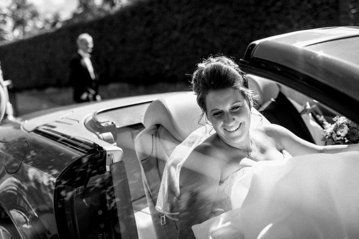 Hochzeitsauto, Brautauto, Braut, Cabrio