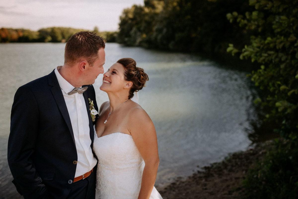 Hochzeitsfotografie, heiraten, Brautpaar, Honisch Beach Niedernberg