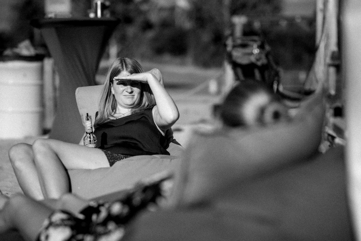 Hochzeitsfotografie, heiraten, Bier, Sonne, Schatten