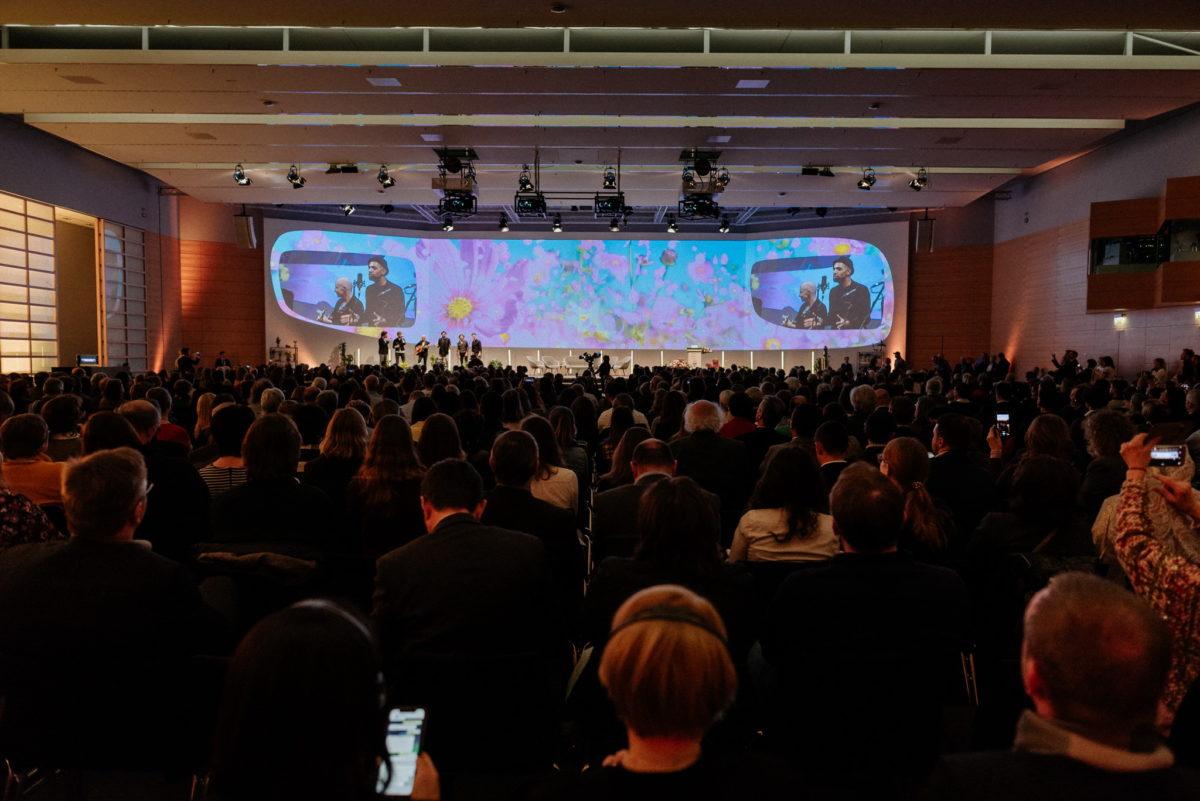 Eröffnung Vivaness Biofach 2020, Diskussion, Bühne, Modertation, Eventfotografie, Messefotografie