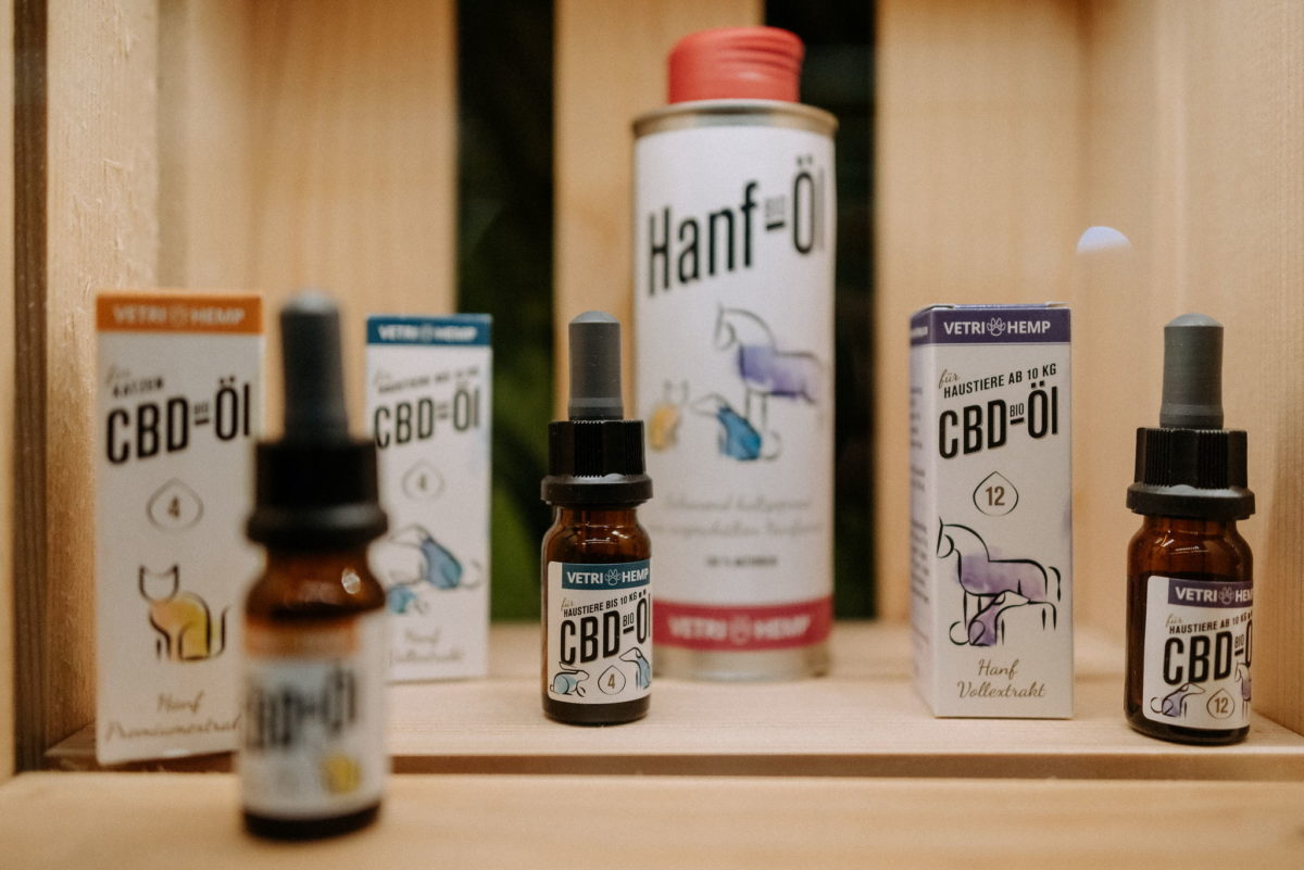 Verti Hemp, CBD Öl, Hanf Öl, Bio, Hanfvollextrakt, Beruhigung Haustiere