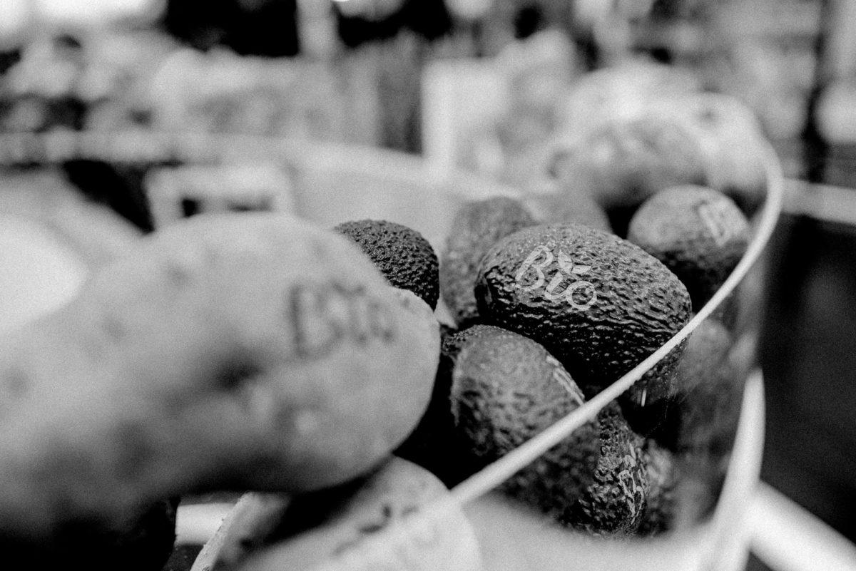 Avocado, Bio, Prägung