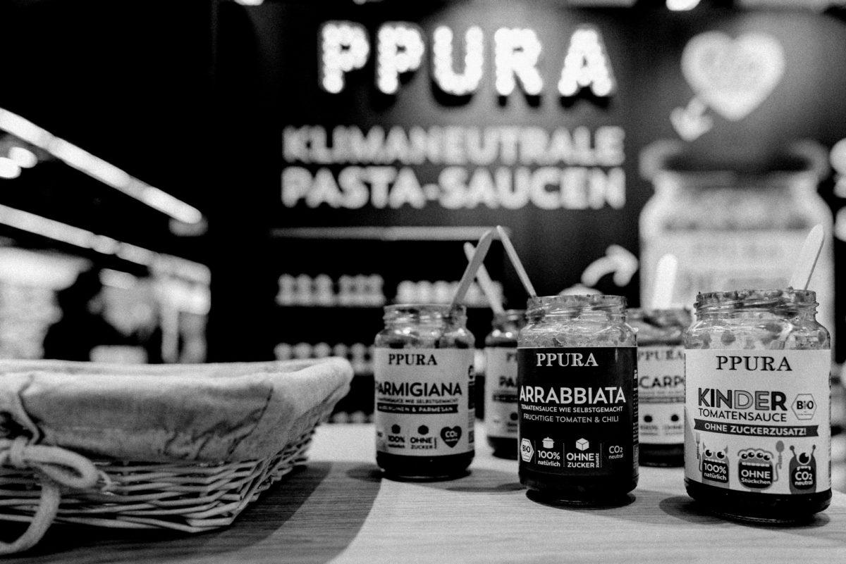 Ppura, Tomatensoße, Arrabbiata, Pasta-Saucen, nachhaltig, bio, Biofach 2020