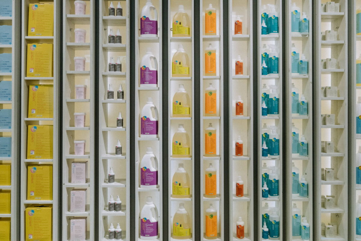 Sonett, Ökologisch, Konsequent, Waschmittel, Messefotografie