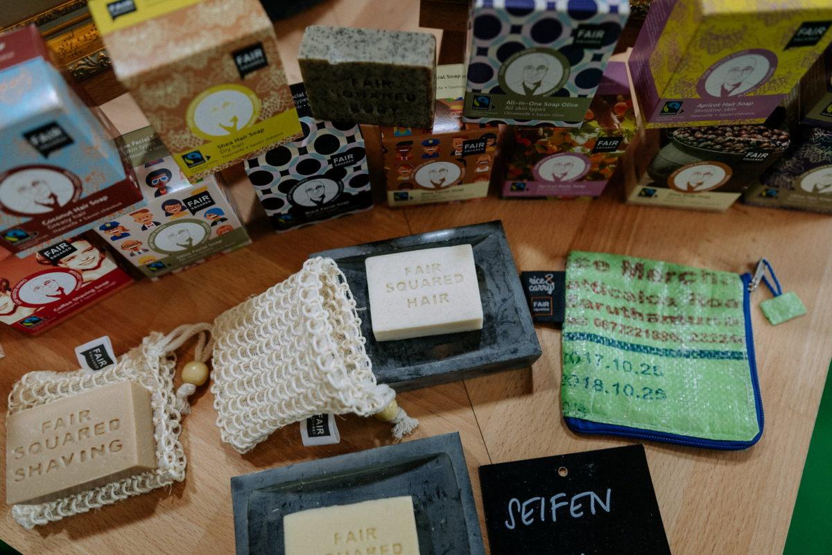 Fair Squared Hair Soap, Soap Master Khiro, Haarseifen, feste Seifen, Vivaness 2020
