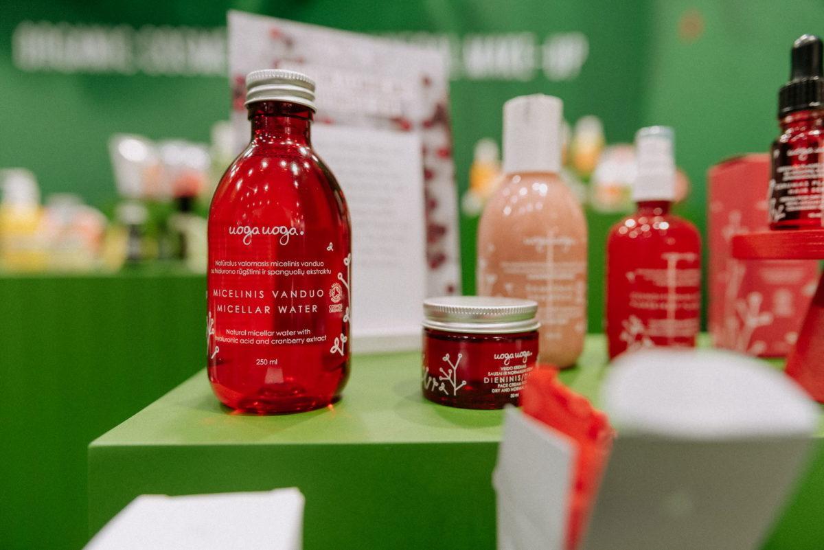 uoga uoga, micellar water, mizellenwasser, Cranberry Extract, Vivaness 2020, Messefotografie