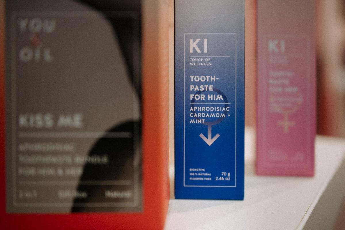 KI Touch of Wellness, Toothpaste, Zahnpasta, Aphrodisiac, Vivaness 2020