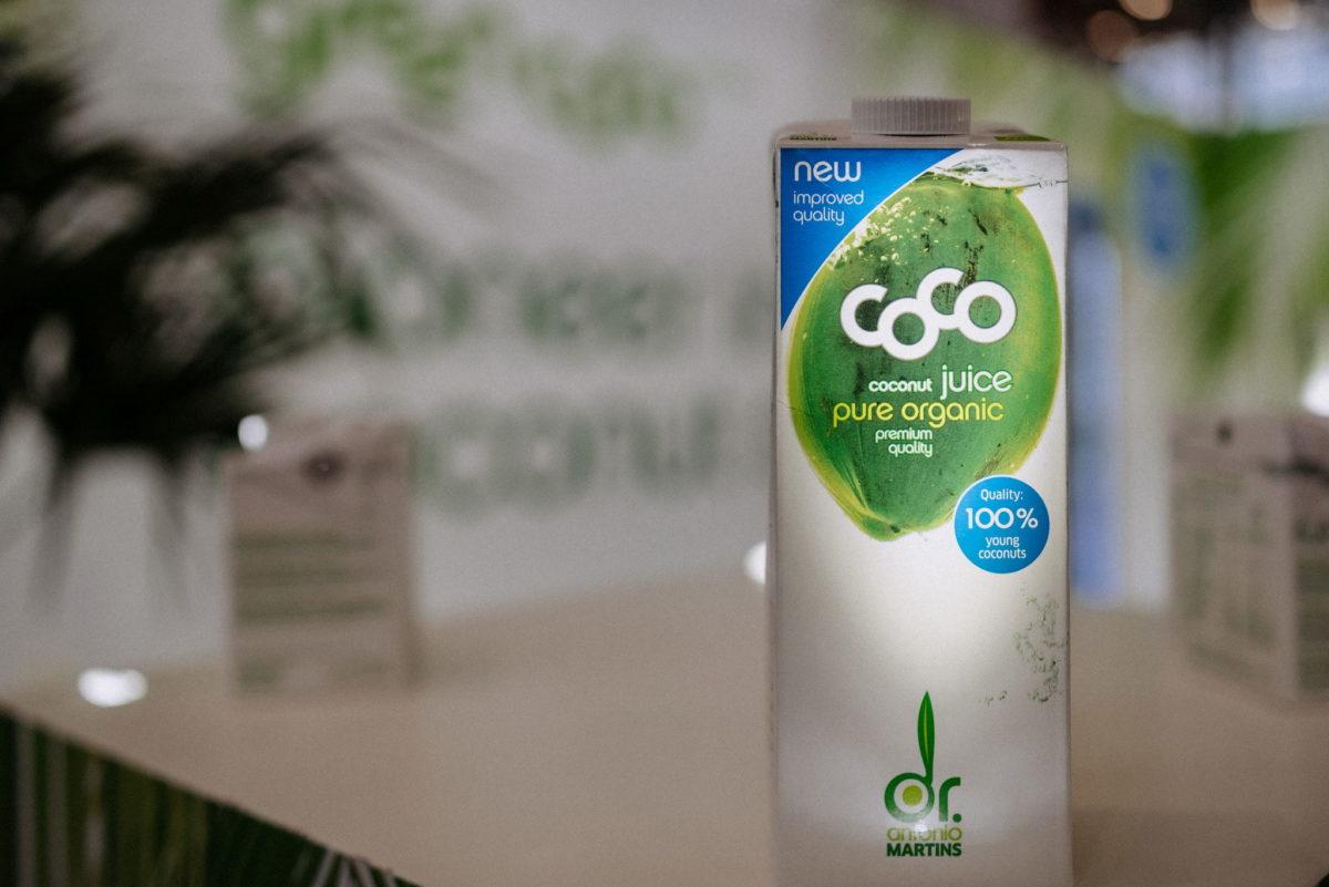 Dr. Martins Coco juice, Young Coconut, Biofach 2020