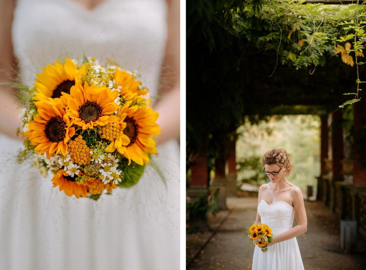 Hochzeit, heiraten, Hochzeitsfotograf, Brautstrauß, Braut, Brautkleid